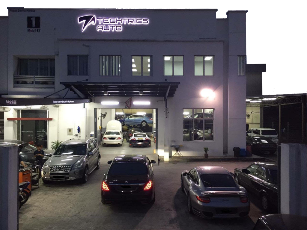 Mercedes Car Workshop